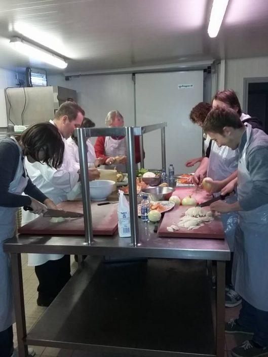 Cours de cuisine bretagne crozon
