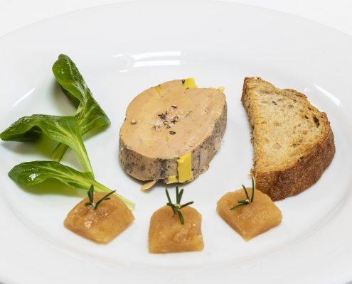 Assiette dressée par le Chef Gilles Narbeburu